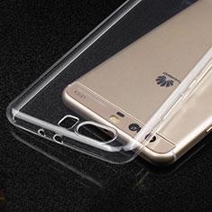 Silikon Schutzhülle Ultra Dünn Tasche Durchsichtig Transparent T03 für Huawei P10 Klar