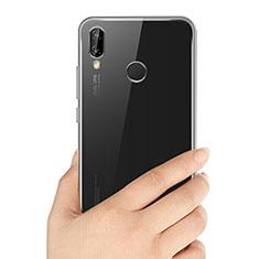 Silikon Schutzhülle Ultra Dünn Tasche Durchsichtig Transparent T03 für Huawei P20 Lite Klar