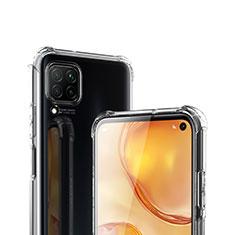 Silikon Schutzhülle Ultra Dünn Tasche Durchsichtig Transparent T03 für Huawei P40 Lite Klar