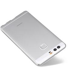 Silikon Schutzhülle Ultra Dünn Tasche Durchsichtig Transparent T03 für Huawei P9 Plus Klar