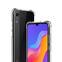 Silikon Schutzhülle Ultra Dünn Tasche Durchsichtig Transparent T03 für Huawei Y6 (2019) Klar