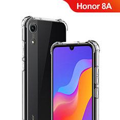 Silikon Schutzhülle Ultra Dünn Tasche Durchsichtig Transparent T03 für Huawei Y6 Prime (2019) Klar