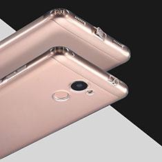 Silikon Schutzhülle Ultra Dünn Tasche Durchsichtig Transparent T03 für Huawei Y7 Prime Klar