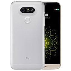 Silikon Schutzhülle Ultra Dünn Tasche Durchsichtig Transparent T03 für LG G5 Klar