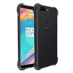 Silikon Schutzhülle Ultra Dünn Tasche Durchsichtig Transparent T03 für OnePlus 5T A5010 Klar