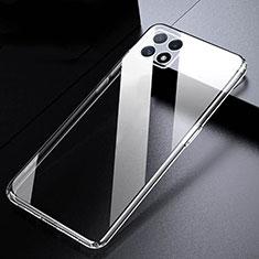 Silikon Schutzhülle Ultra Dünn Tasche Durchsichtig Transparent T03 für Oppo A73 5G Klar