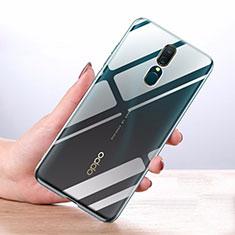Silikon Schutzhülle Ultra Dünn Tasche Durchsichtig Transparent T03 für Oppo A9 Klar