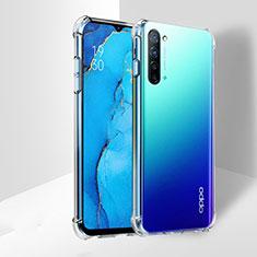 Silikon Schutzhülle Ultra Dünn Tasche Durchsichtig Transparent T03 für Oppo K7 5G Klar
