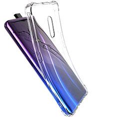 Silikon Schutzhülle Ultra Dünn Tasche Durchsichtig Transparent T03 für Oppo Realme X Klar