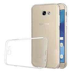 Silikon Schutzhülle Ultra Dünn Tasche Durchsichtig Transparent T03 für Samsung Galaxy A5 (2017) SM-A520F Klar