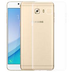 Silikon Schutzhülle Ultra Dünn Tasche Durchsichtig Transparent T03 für Samsung Galaxy C5 Pro C5010 Klar