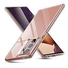 Silikon Schutzhülle Ultra Dünn Tasche Durchsichtig Transparent T03 für Samsung Galaxy Note 20 Ultra 5G Klar
