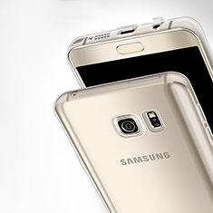 Silikon Schutzhülle Ultra Dünn Tasche Durchsichtig Transparent T03 für Samsung Galaxy Note 5 N9200 N920 N920F Klar