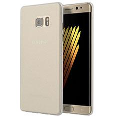 Silikon Schutzhülle Ultra Dünn Tasche Durchsichtig Transparent T03 für Samsung Galaxy Note 7 Klar