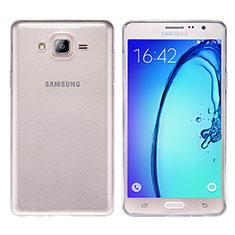 Silikon Schutzhülle Ultra Dünn Tasche Durchsichtig Transparent T03 für Samsung Galaxy On7 G600FY Klar