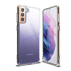 Silikon Schutzhülle Ultra Dünn Tasche Durchsichtig Transparent T03 für Samsung Galaxy S21 Plus 5G Klar