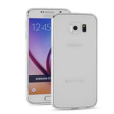 Silikon Schutzhülle Ultra Dünn Tasche Durchsichtig Transparent T03 für Samsung Galaxy S6 SM-G920 Klar