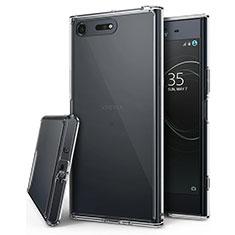 Silikon Schutzhülle Ultra Dünn Tasche Durchsichtig Transparent T03 für Sony Xperia XZ Premium Klar
