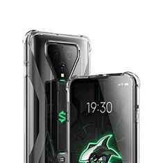 Silikon Schutzhülle Ultra Dünn Tasche Durchsichtig Transparent T03 für Xiaomi Black Shark 3 Pro Klar
