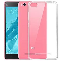 Silikon Schutzhülle Ultra Dünn Tasche Durchsichtig Transparent T03 für Xiaomi Mi 4i Klar