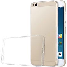 Silikon Schutzhülle Ultra Dünn Tasche Durchsichtig Transparent T03 für Xiaomi Mi 5C Klar