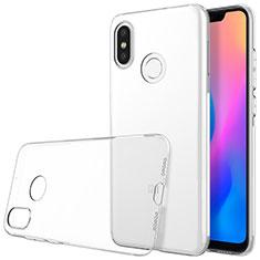 Silikon Schutzhülle Ultra Dünn Tasche Durchsichtig Transparent T03 für Xiaomi Mi 8 Klar