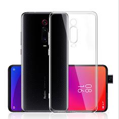 Silikon Schutzhülle Ultra Dünn Tasche Durchsichtig Transparent T03 für Xiaomi Mi 9T Klar