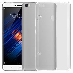 Silikon Schutzhülle Ultra Dünn Tasche Durchsichtig Transparent T03 für Xiaomi Mi Max Klar