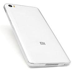 Silikon Schutzhülle Ultra Dünn Tasche Durchsichtig Transparent T03 für Xiaomi Mi Note Klar