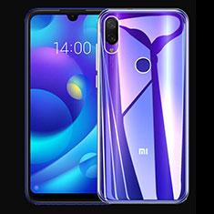 Silikon Schutzhülle Ultra Dünn Tasche Durchsichtig Transparent T03 für Xiaomi Mi Play 4G Klar