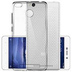 Silikon Schutzhülle Ultra Dünn Tasche Durchsichtig Transparent T03 für Xiaomi Redmi 3S Prime Klar
