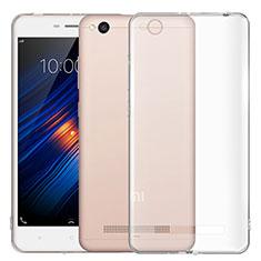 Silikon Schutzhülle Ultra Dünn Tasche Durchsichtig Transparent T03 für Xiaomi Redmi 4A Klar