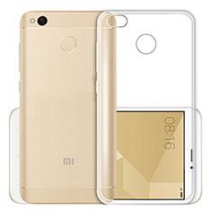 Silikon Schutzhülle Ultra Dünn Tasche Durchsichtig Transparent T03 für Xiaomi Redmi 4X Klar
