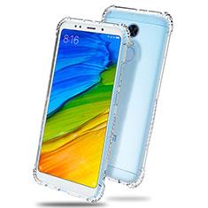 Silikon Schutzhülle Ultra Dünn Tasche Durchsichtig Transparent T03 für Xiaomi Redmi 5 Plus Klar