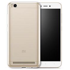 Silikon Schutzhülle Ultra Dünn Tasche Durchsichtig Transparent T03 für Xiaomi Redmi 5A Klar