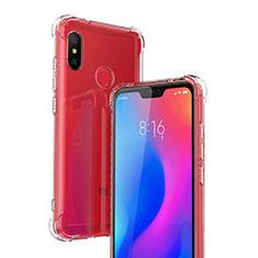 Silikon Schutzhülle Ultra Dünn Tasche Durchsichtig Transparent T03 für Xiaomi Redmi 6 Pro Klar