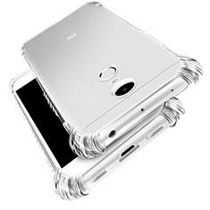 Silikon Schutzhülle Ultra Dünn Tasche Durchsichtig Transparent T03 für Xiaomi Redmi Note 4 Klar