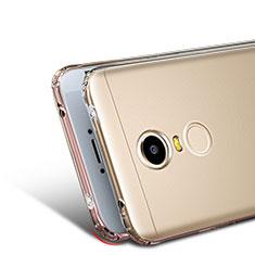 Silikon Schutzhülle Ultra Dünn Tasche Durchsichtig Transparent T03 für Xiaomi Redmi Note 4 Standard Edition Klar