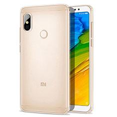 Silikon Schutzhülle Ultra Dünn Tasche Durchsichtig Transparent T03 für Xiaomi Redmi Note 5 Pro Klar