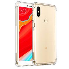 Silikon Schutzhülle Ultra Dünn Tasche Durchsichtig Transparent T03 für Xiaomi Redmi S2 Klar
