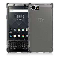 Silikon Schutzhülle Ultra Dünn Tasche Durchsichtig Transparent T04 für Blackberry KEYone Klar