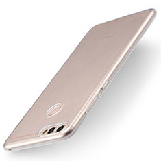 Silikon Schutzhülle Ultra Dünn Tasche Durchsichtig Transparent T04 für Huawei Enjoy 7S Klar