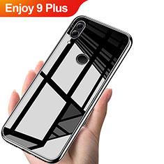 Silikon Schutzhülle Ultra Dünn Tasche Durchsichtig Transparent T04 für Huawei Enjoy 9 Plus Klar
