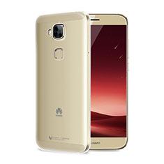 Silikon Schutzhülle Ultra Dünn Tasche Durchsichtig Transparent T04 für Huawei G7 Plus Klar