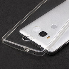Silikon Schutzhülle Ultra Dünn Tasche Durchsichtig Transparent T04 für Huawei GR5 Klar