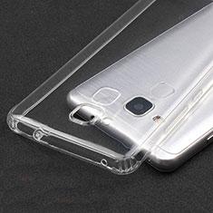 Silikon Schutzhülle Ultra Dünn Tasche Durchsichtig Transparent T04 für Huawei GR5 Mini Klar