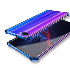 Silikon Schutzhülle Ultra Dünn Tasche Durchsichtig Transparent T04 für Huawei Honor 10 Klar