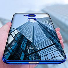 Silikon Schutzhülle Ultra Dünn Tasche Durchsichtig Transparent T04 für Huawei Honor 6C Pro Klar