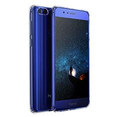 Silikon Schutzhülle Ultra Dünn Tasche Durchsichtig Transparent T04 für Huawei Honor 8 Klar