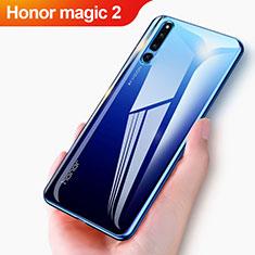 Silikon Schutzhülle Ultra Dünn Tasche Durchsichtig Transparent T04 für Huawei Honor Magic 2 Klar